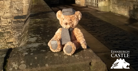 Teddy Bear at Edinburgh Castle