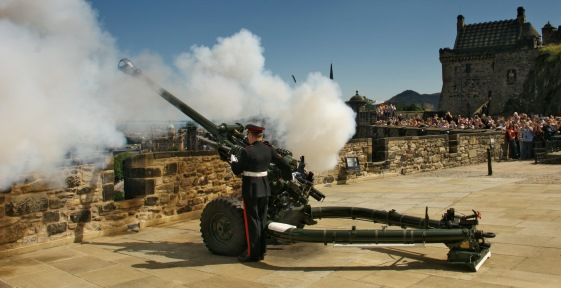 Image result for one o'clock gun