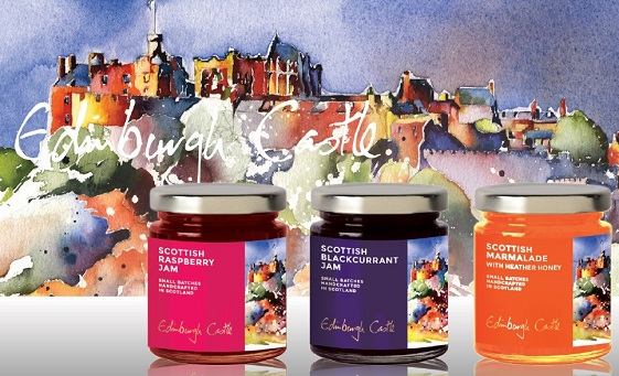 Jars of Edinburgh Castle Jam
